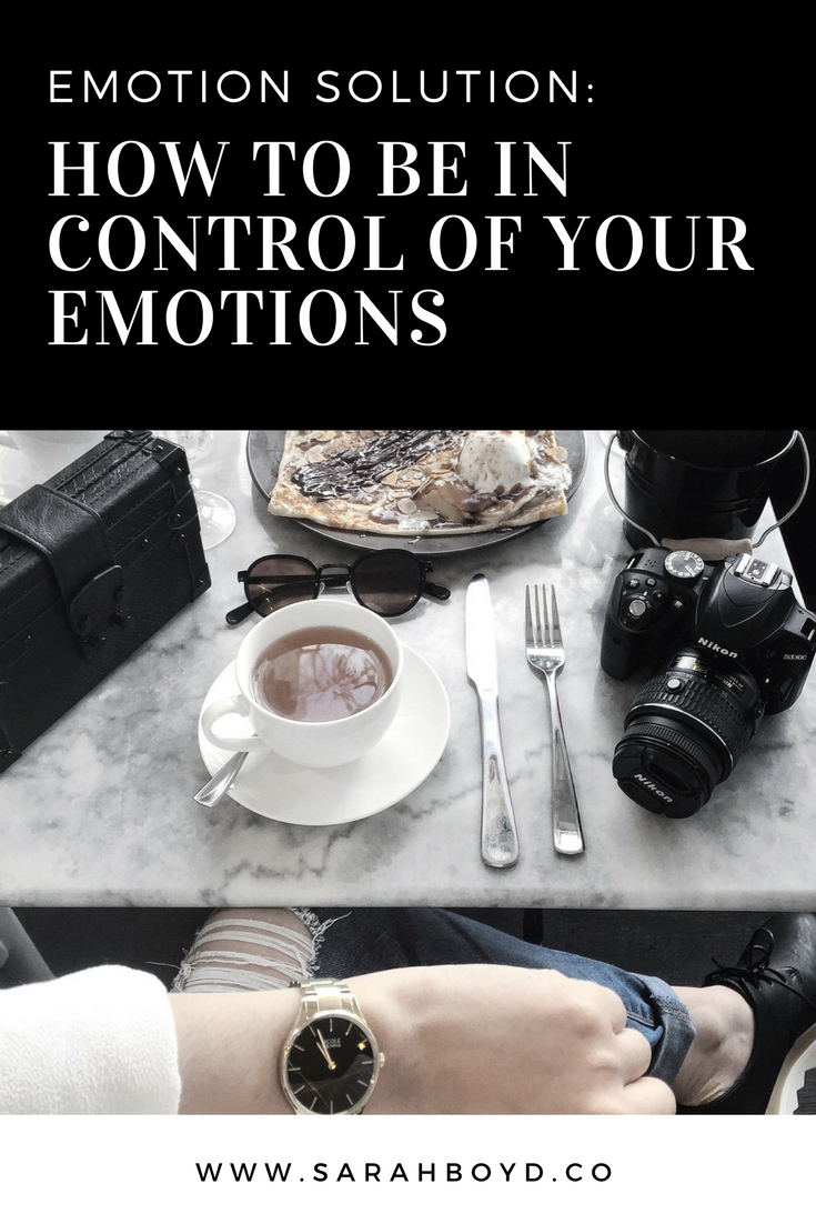 emotion-solution: how to be in control of your emotions